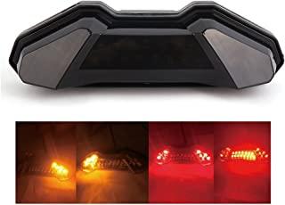 Fits Yamaha FZ-09 Integrated Tail Light 2014 2015 2016 2017 2018 FZ 09 Turn Signal Blinker Taillight