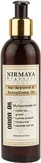 Nirmaya Organics Onion Oil For Men & Women - Promotes Hair Growth - Controls Hair Fall - 200ml