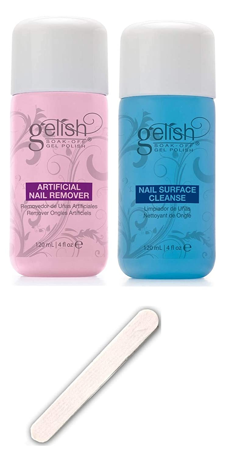 NEW Gelish Soak Off Gel Nail 1 Polish Cleanser Remover specialty shop Sale price Bottles