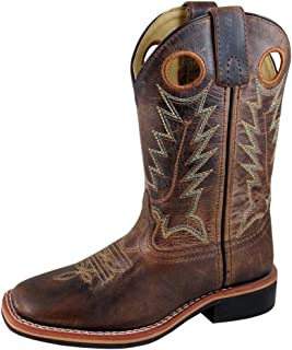 Smoky Mountain Kids Jesse Sq Toe Boots 2C Distr