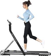 RHYTHM FUN Treadmill Folding Running Treadmill Under Desk Walking Pad Treadmill with Foldable Handtrail Wide Tread Belt Su...
