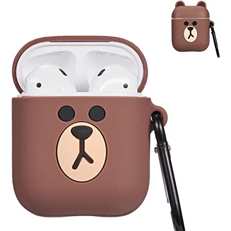 Harry Potter AirPods Case,3D Cute Cartoon Funny Kawaii Airpods Case,Shockproof Protective Soft Silicone Airpod Case with Keychain Designed for Apple AirPods 1 /& 2 Charging Case
