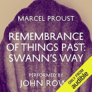 Remembrance of Things Past audiobook cover art