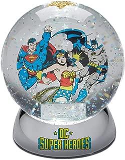Enesco DC Comics Batman Superman and Wonder Woman Waterdazzler Waterball, 4.5 Inch, Multicolor