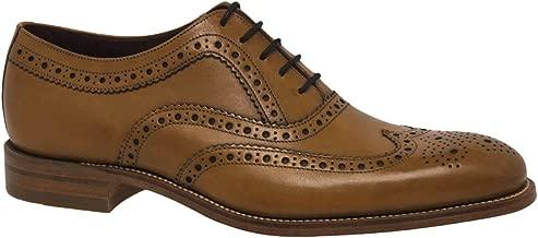 loake tan leather brogues