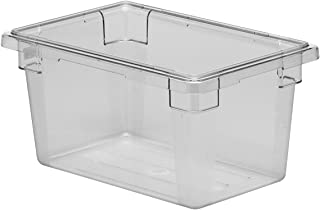Cambro 12189CW135 Food Storage Box, Half-Size, 4-3/4 Gallon, White