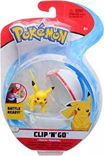 Pokemon Female Pikachu Premier Ball Clip n Go Action Figure