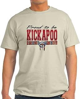 Proud to Be Kickapoo 100% Cotton T-Shirt, White