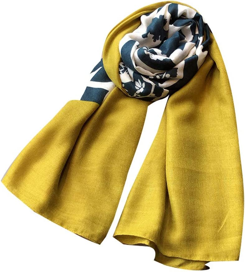 GPPZM Winter Literary Cotton and Linen Thin Women Sale special price Now free shipping Lo Print Scarf