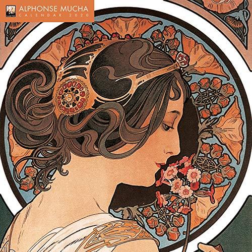 Alphonse Mucha – Alfons Mucha 2020: Original Flame Tree Publishing-Kalender [Kalender]...