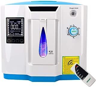 Vogvigo 1-6L/min Adjustable Oxygen Machine Accessories with Oxygen Tubing, 110V
