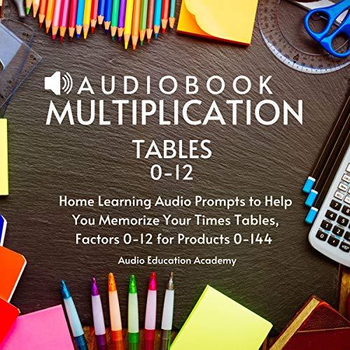 Audiobook Multiplication Tables 0-12 Titelbild