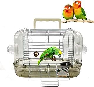 Gifty鳥かご セキセイインコ 小鳥 バードケージ 組み立て式 文鳥 ゲージ Mサイズ インコ 通院 防災