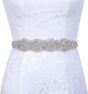 Best silver bridesmaid belt Reviews
