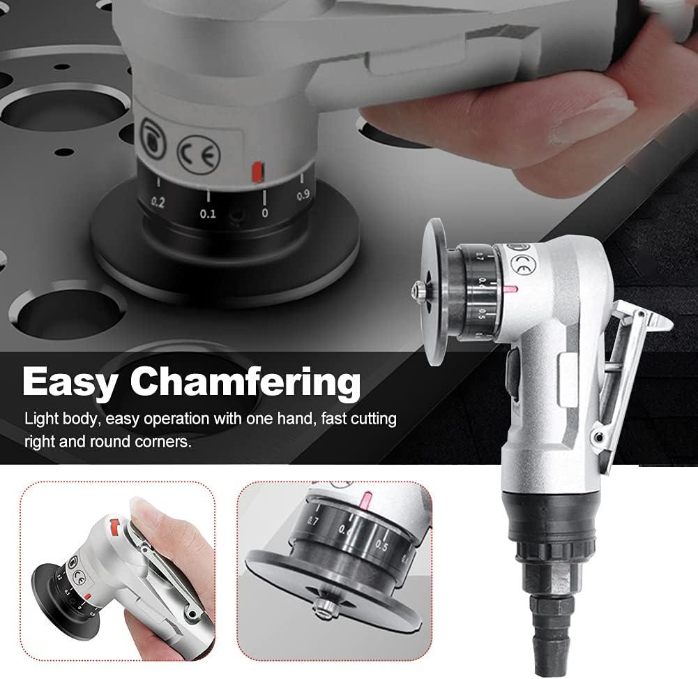 POHOVE Mini Pneumatic Chamfering Machine Handheld 45 Arc Air ...