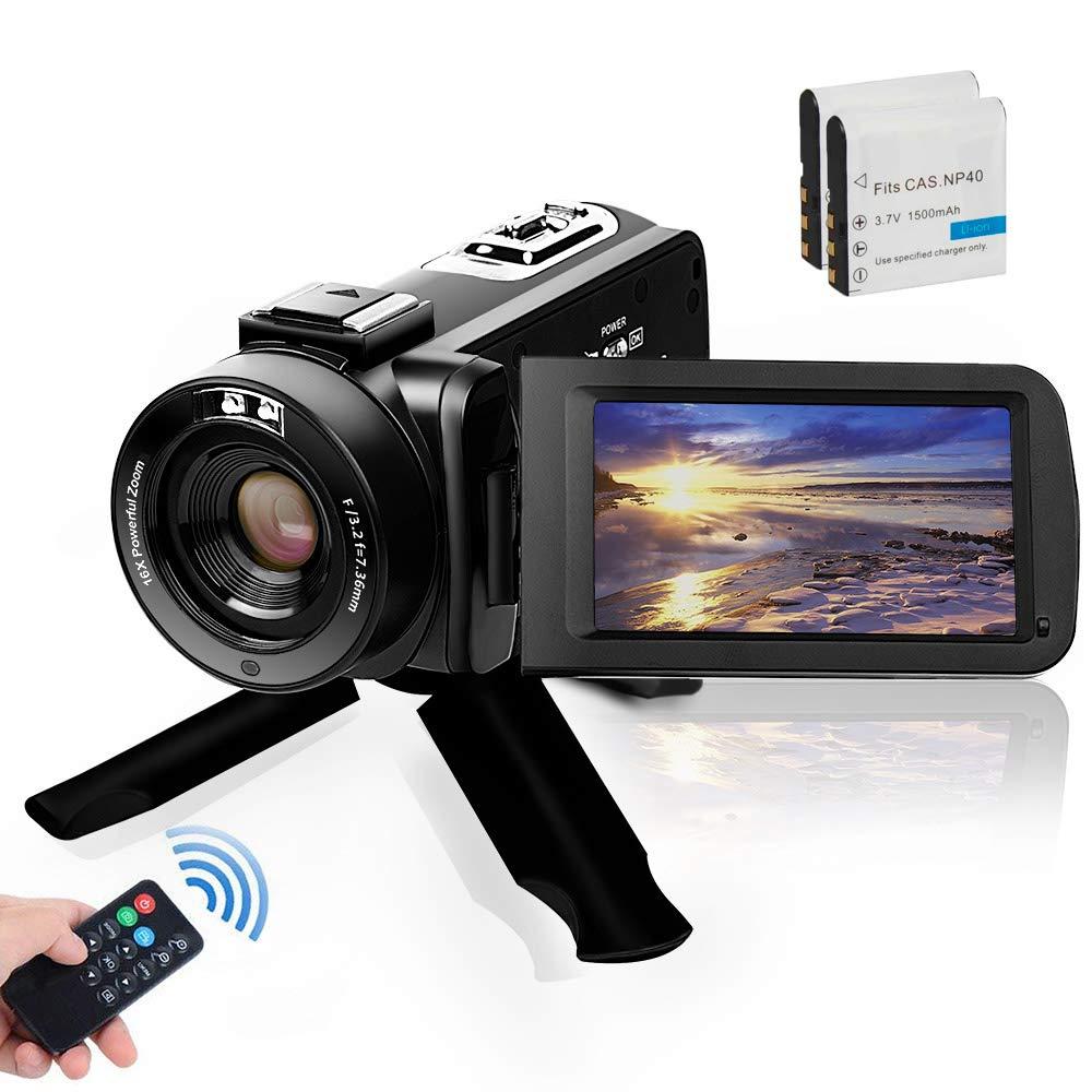 Camcorder Digital Vlogging Recorder Batteries