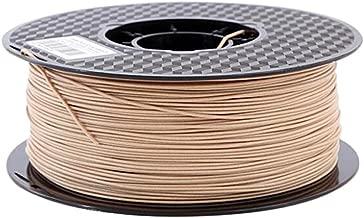 Wood PLA Filament 1.75mm 3D Printer Filament 2.2 LBS Wooden Color Material 1 KG Spool
