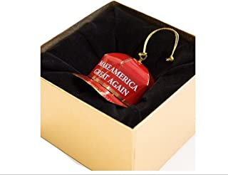 Trump Make America Great Again Red Cap Collectible Ornament