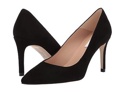 L.K. Bennett Floret (Black Suede) High Heels