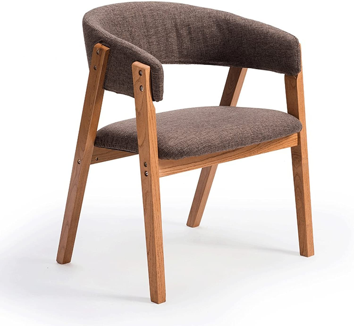 Stool American Wrought Iron Lounge Chair Retro Bar Chair Solid Wood Bar Chair Old Round Bar Comfortable and Durable GFMING (Size   60cm)