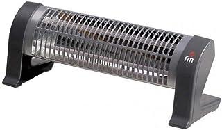 FM Calefacción 2302-C calentador de ambiente - Calefactor (230 V, 50 Hz, 1200 W) Negro, Gris