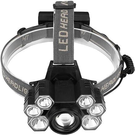 LUHUIYUAN 7LED Blendungsscheinwerfer drehen Zoom T6 Outdoor Jagd Klettern Camping Scheinwerfer B07LFL9ZN5     | Schönes Design