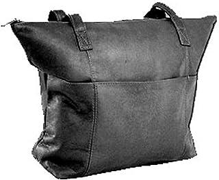 David King & Co. Top Zip Shopping Tote 543, Black, One Size