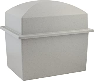 Silverlight Urns Basic Urn Vault Double, Companion Urn, 16.5 x 12 x 14.5 inches, Holds 2 Urns for Burial