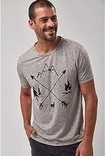 Camiseta Arrows - Cinza Mescla