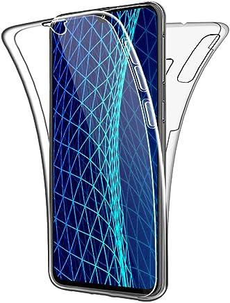 COPHONE® Coque Compatible Samsung Galaxy A40 Transparente 360 degrès en Gel Protection Integral et Invisible. Housse Silicone Haute qualité