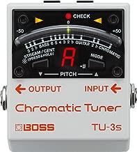 BOSS Chromatic Tuner for Guitar Pedalboard (TU-3S)