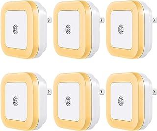 Vont LED Night Light Plug-in [6 Pack] Smart Dusk to Dawn Sensor, Automatic Night Lights, Suitable for Bedroom, Bathroom, T...