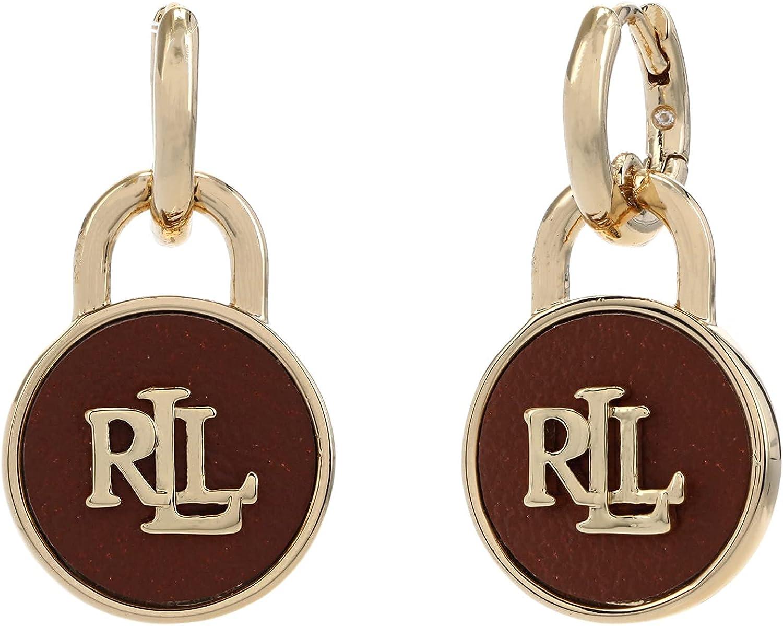 Nashville-Davidson Mall LAUREN Ralph Selling and selling Lauren Earrings Padlock Drop