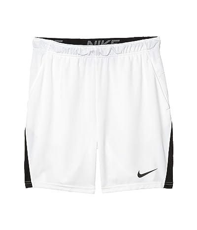 Nike Dry Shorts 5.0 (White/Black/Black) Men