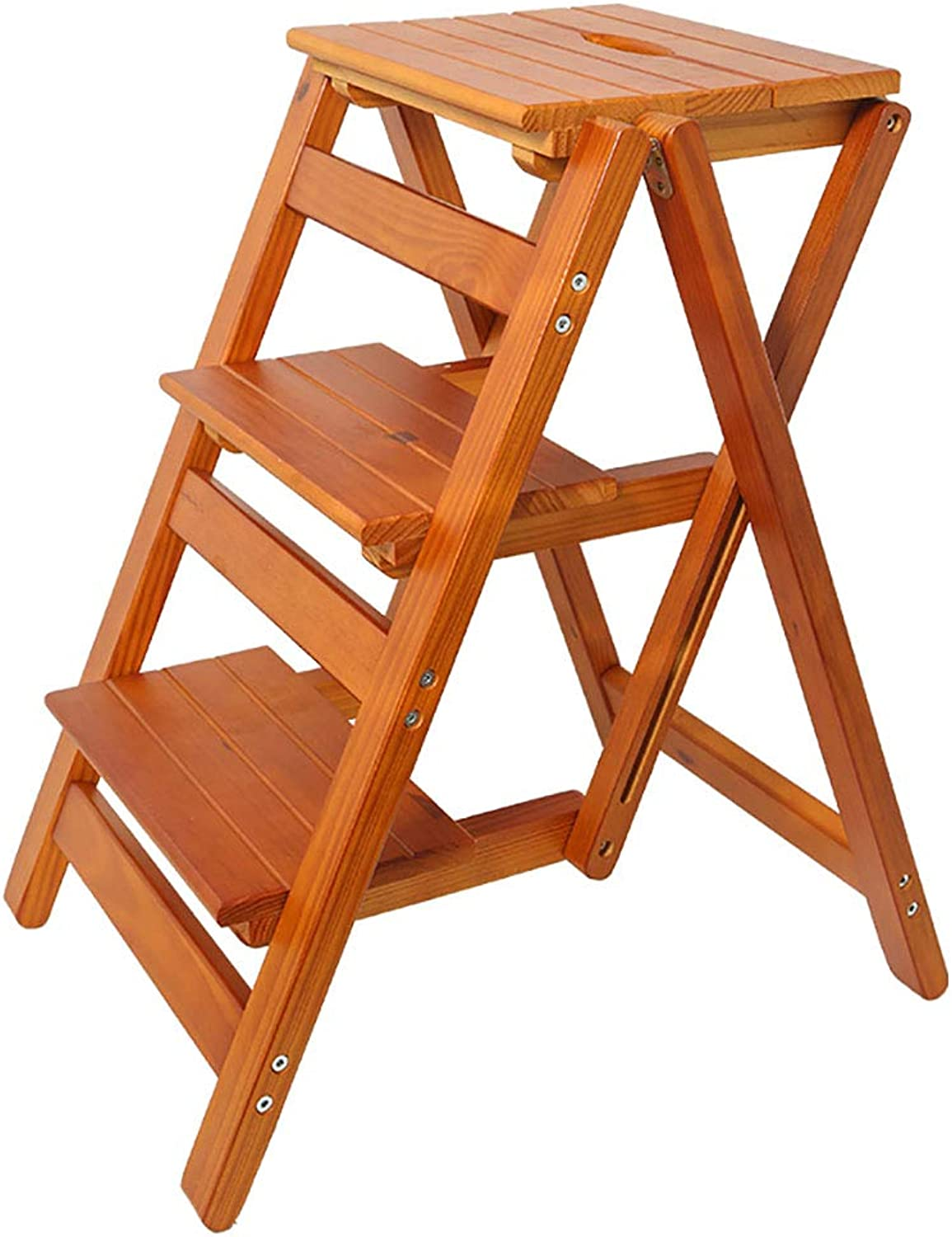 Step Stool Step Ladder Chair Home Folding Chair Stool (Size   B)