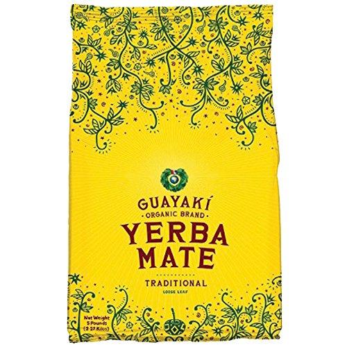 Guayaki Traditional Yerba Mate Tea, 5 Pound