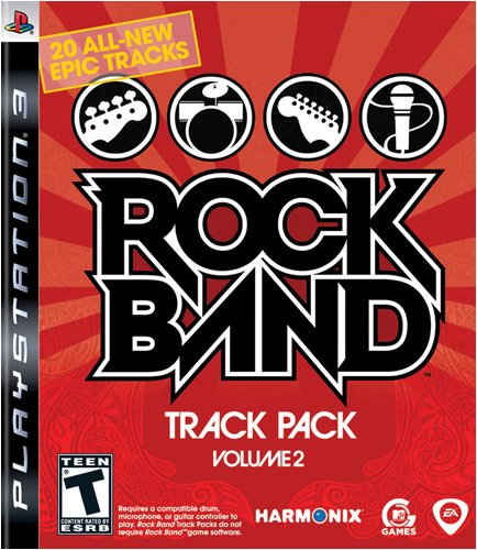 Rock Band Track Pack Vol 2 PS3