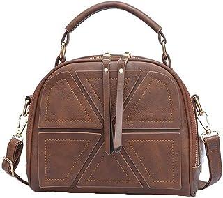 VogueZone009 Women's Casual Shopping Dacron Zippers Pu Crossbody Bags,CCABO207877