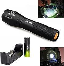 Linternas, Mostsola 3500 Lumen 5 Modos Cree XML-T6 Alta Potencia LED Zoomable Linternas +..
