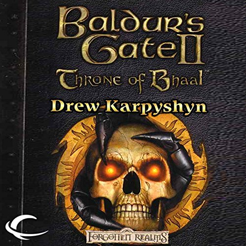 Baldur's Gate II: Throne of Bhaal audiobook cover art