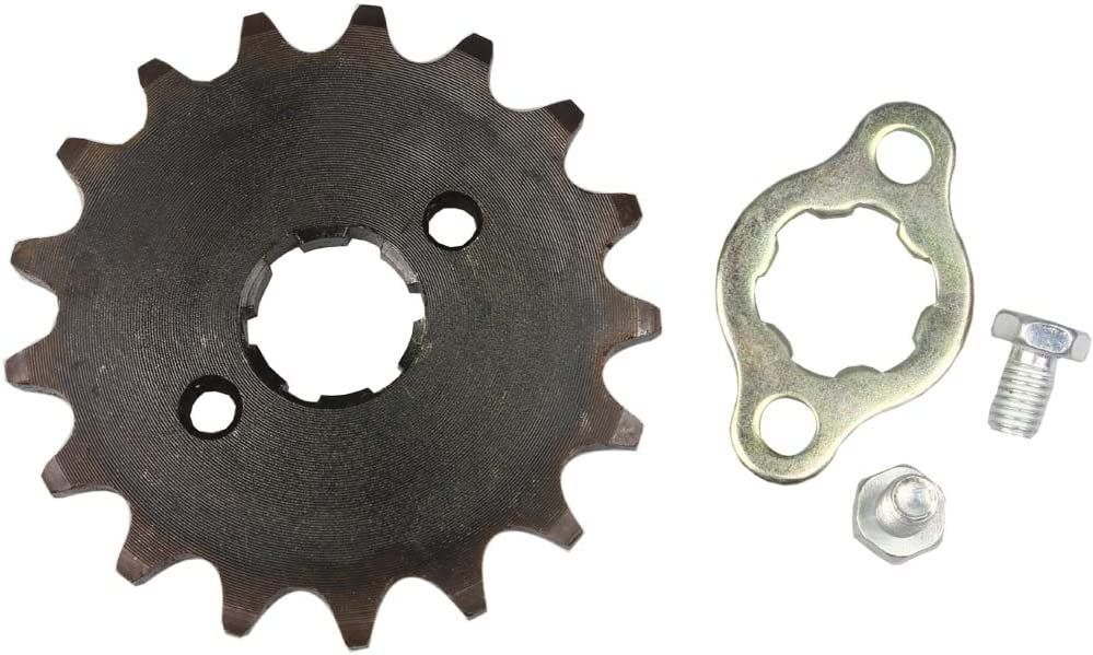 WEIYINGSI Sprocket Front 420-17T Soldering Motorcycle ATV Fashionable 20mm Dirtbike