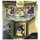 AMG Pokémon Liga-Kampf-Deck - Juego de cartas coleccionables de Pikachu y Zerkrom-GX