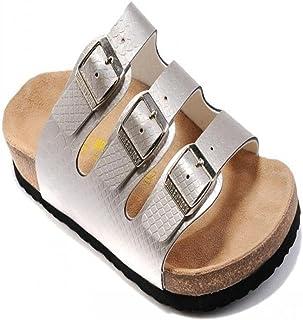 COQUI Open Toe Sandalen mannen, Zomer sandalen platte zachthout slippers strandschoenen mannen drie rijen mode casual koud...