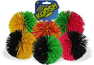 Koosh Ball Soft Active Fun Toy - 1x Random Coloured Koosh Ball