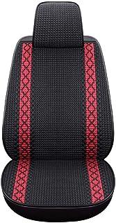 XWL Sillas de Coche Cojín for el Asiento del automóvil Cojín Transpirable Cojín Tejido a Mano Buena transpirabilidad y Comodidad Multi-Color Opcional Ecológico e Inodoro (Color : Black)