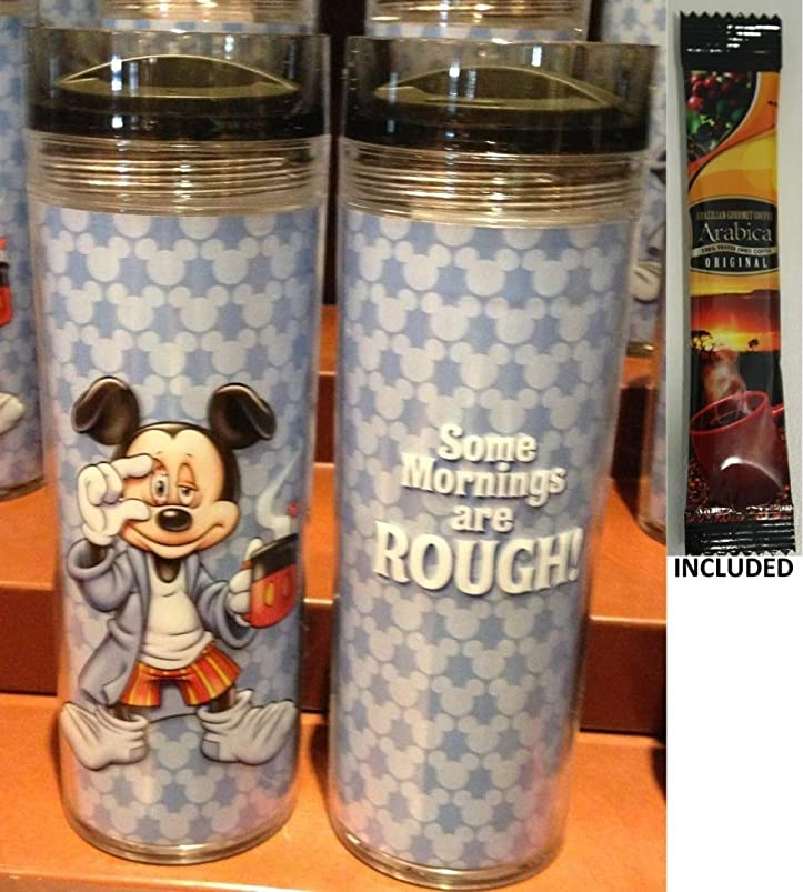 Disney Parks Mickey Mouse Mornings Travel Mug/Tumbler codxrihk398649