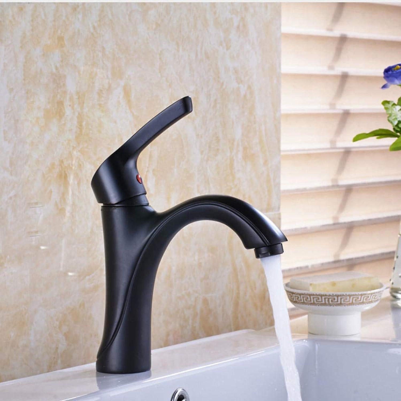 Hiwenr Messing Badezimmer Vanity Sink Wasserhahn Einhebel Deck Montiert Einhebelmischer Mit Heiem Und Kaltem Wasser