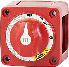 Blue Sea 6011 m-Series Mini Battery Switch Dual Circuit Plus