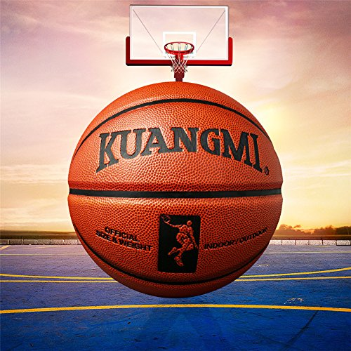 Review Genetic Los Angeles Genuine Official Size 7 Basketball Game Training Ball Male Man Outdoor