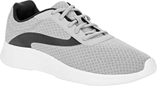 Athletic Works Lightweight Men's Basic Athletic Shoe Grey and Black Size 8.5